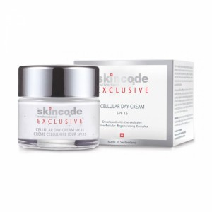 SKINCODE Crème cellulaire jour spf 15 50 ml