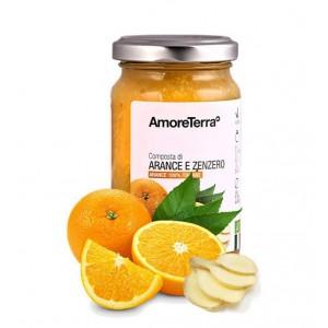 Composta di arancia e zenzero (senza pectina, solo zuccheri della frutta) - Bio